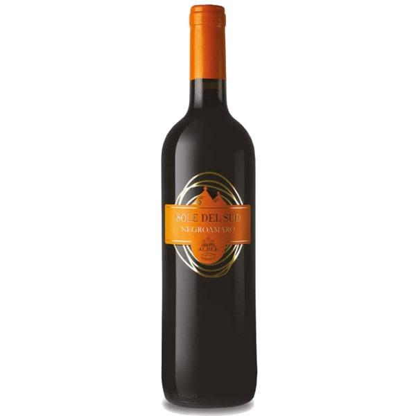 Foto Bottiglia di vino Begroamaro Puglia IGT Sole del Sud Albea