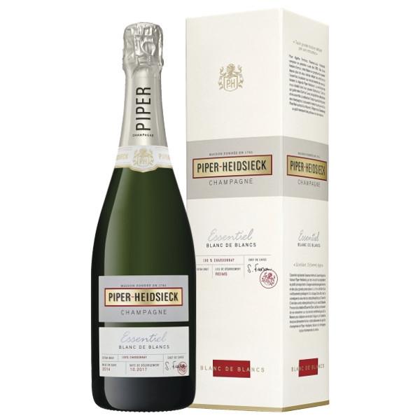 Foto Champagne Essentiel Blanc de Blancs Piper Heidsieck