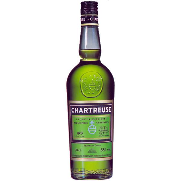 Foto Bottiglia Chartreuse Verde