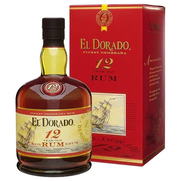 Foto Rum El Dorado 12 Anni Astuccio