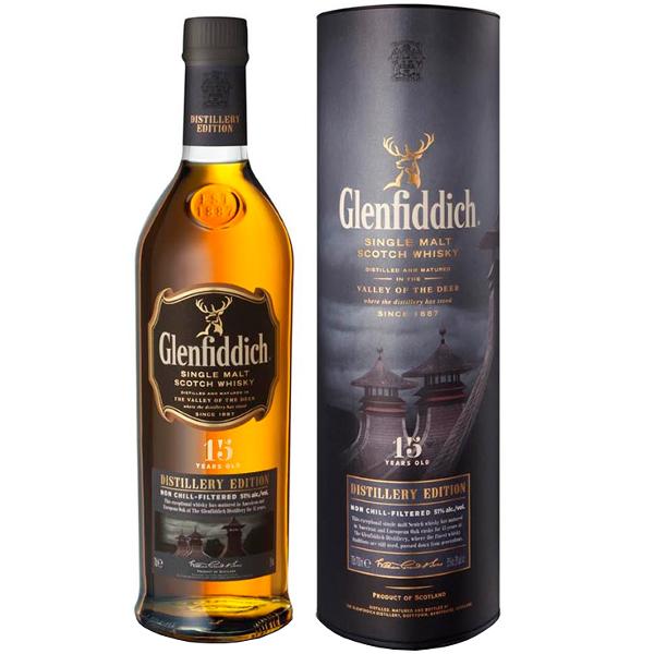 Whisky 15 Anni Distillery Edition Glenfiddich