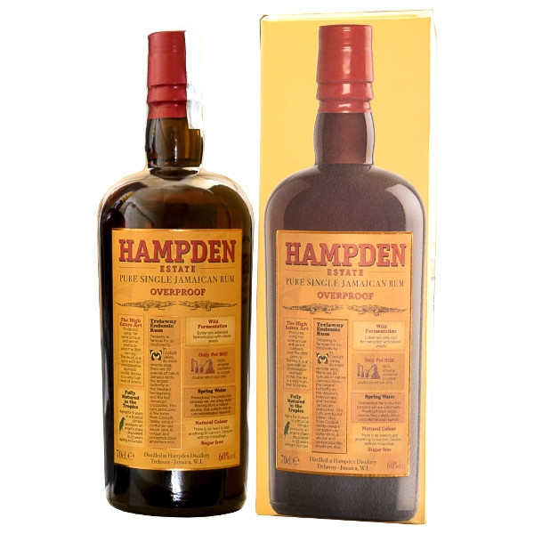 Foto Hampden Estate Overproof 60% ABV