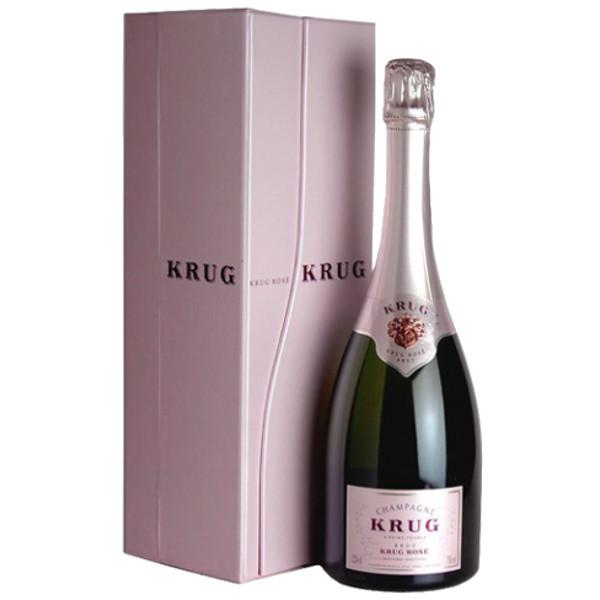 Foto della confezione dello Champagne Krug Rosè con Astuccio