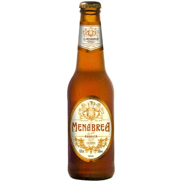 Birra Menabrea Ambrata cl 33