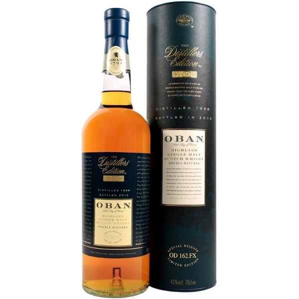 Foto Whisky 1998 The Distillers Edition con Astuccio Oban