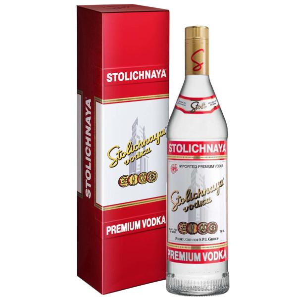 Foto Premium Vodka Gift Box Stolichnaya