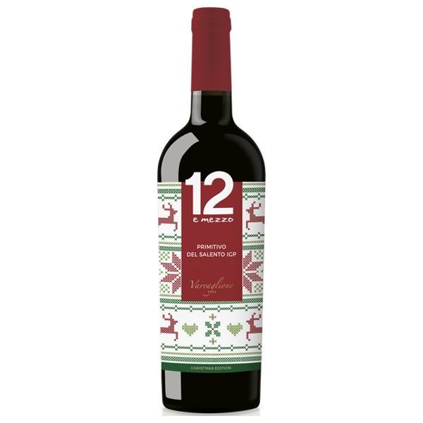 12 e Mezzo Primitivo 2015 Christmas Edition