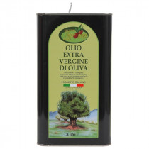 Olio Extra Vergine di Oliva Ogliarola Latta 3 Lt Ligorio