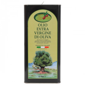 Olio Extra Vergine di Oliva Ogliarola Latta 5 Lt Ligorio